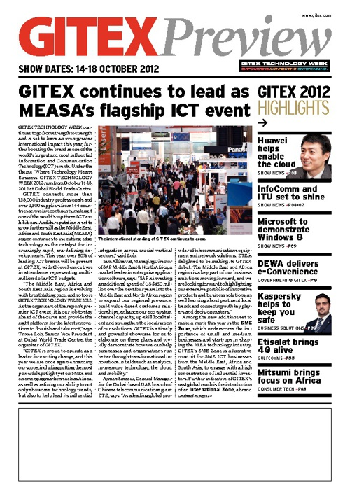 GITEX TECHNOLOGY WEEK 2012