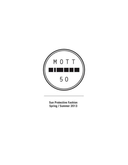Mott 50 Line Sheet SS13