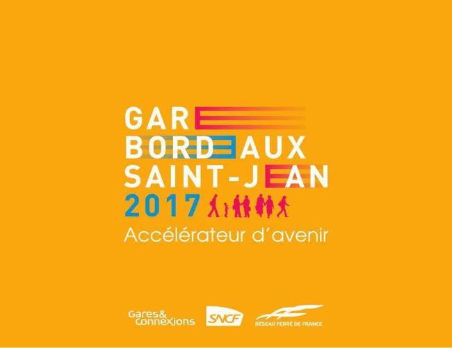 Gare de Bordeaux Saint-Jean 2017