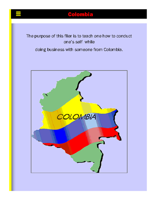 Colombian Business