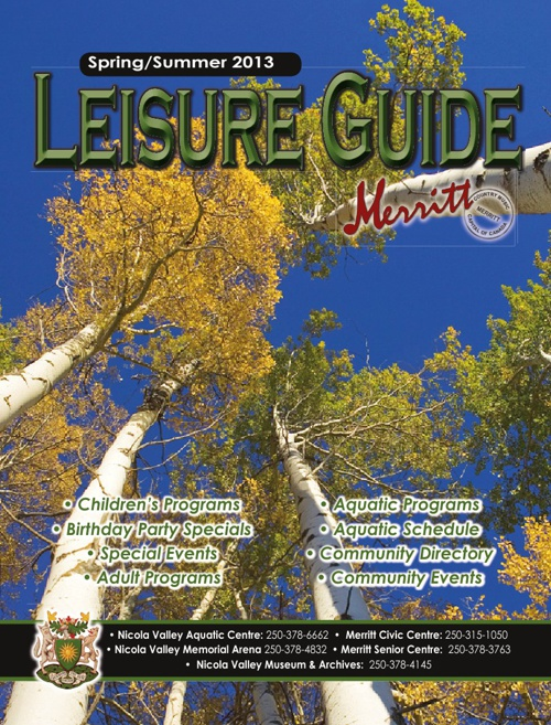 2013 Spring and Summer Leisure Guide