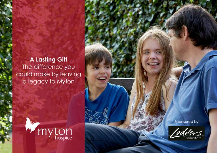 The Myton Hospices A Gift in Your Will Brochure