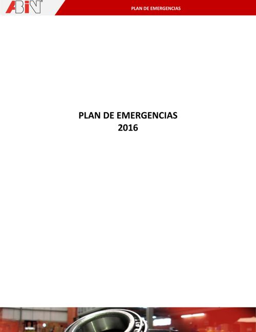 2016-Plan de Emergencias