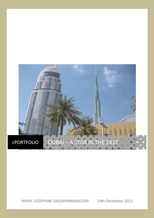 Dubai - A star in the east