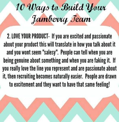 10 Ways to Build Your Jamberry Team