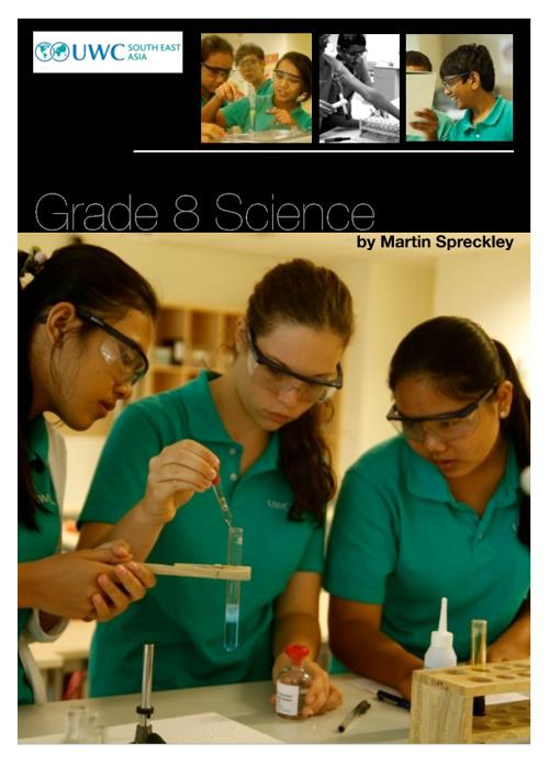 UWCSEA G8 Science Notes