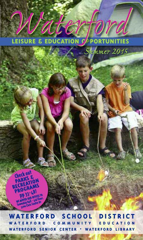 Leisure & Education Opportunities Summer 2015