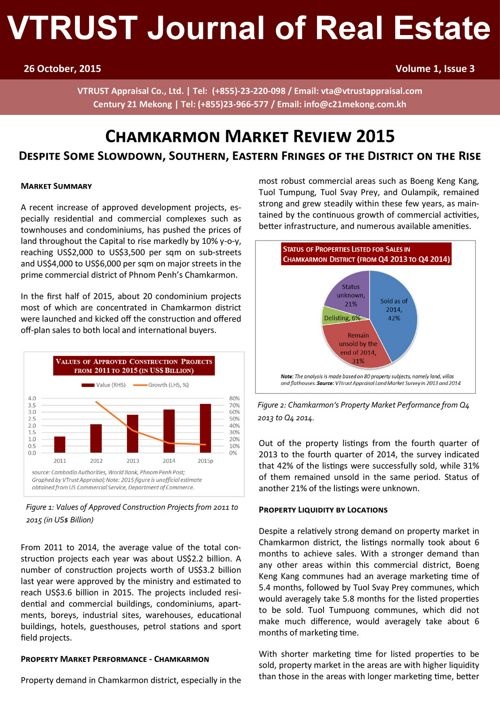 Chamkarmon Market Review - Vtrust Appraisal - English
