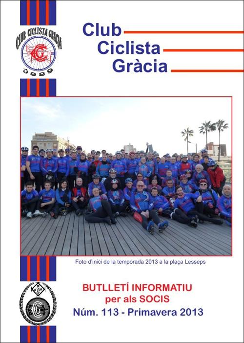 CCGràcia - Butlletí 113