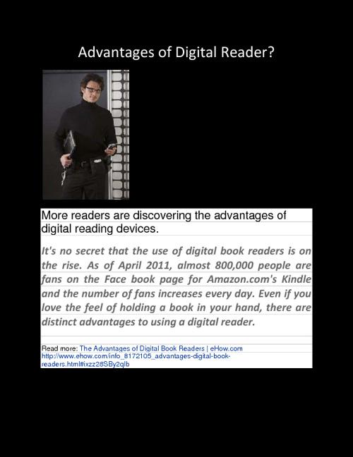 Copy of Digital Reader