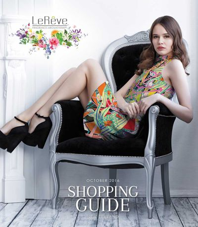 Le Reve Shopping Guide | October 2016 (New Zealand)