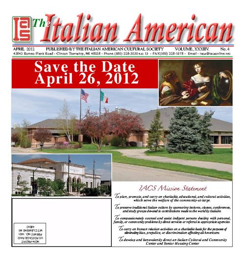 The Italian American - April 2012