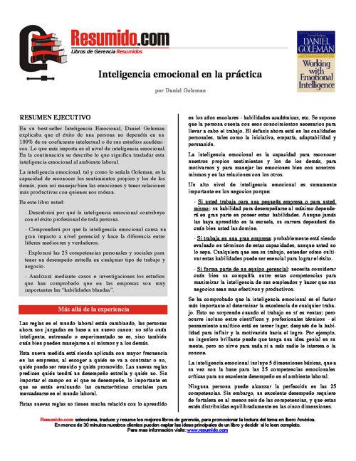InteligenciaEmocionalenlaPractica