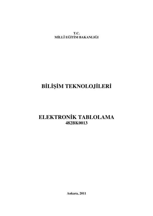 Ders Kitabı