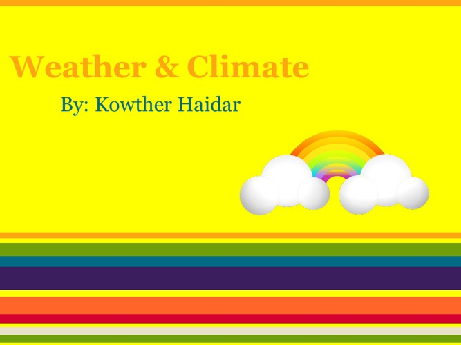Weather & Climate Kowther