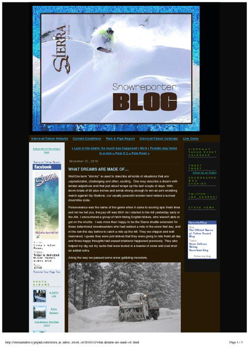 Blog Writing Samples