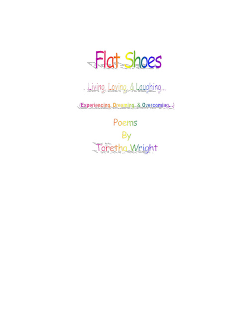 Flat Shoes by Toretha Wright