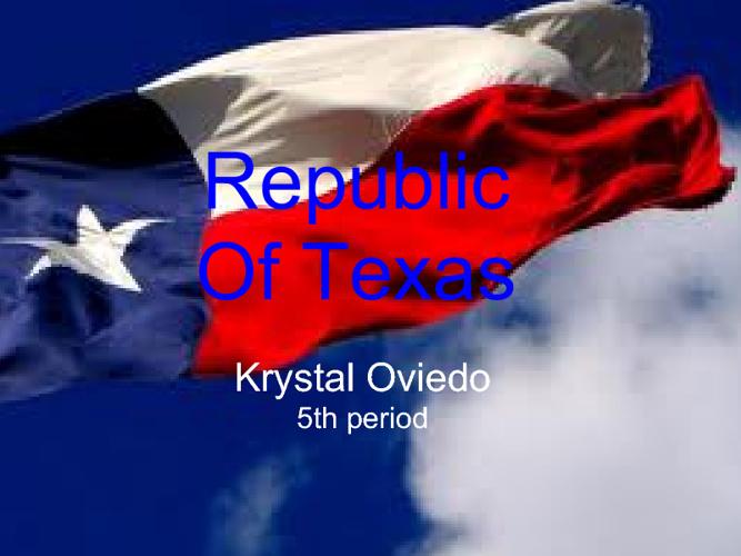 Republic Of Texas - Krystal Oviedo
