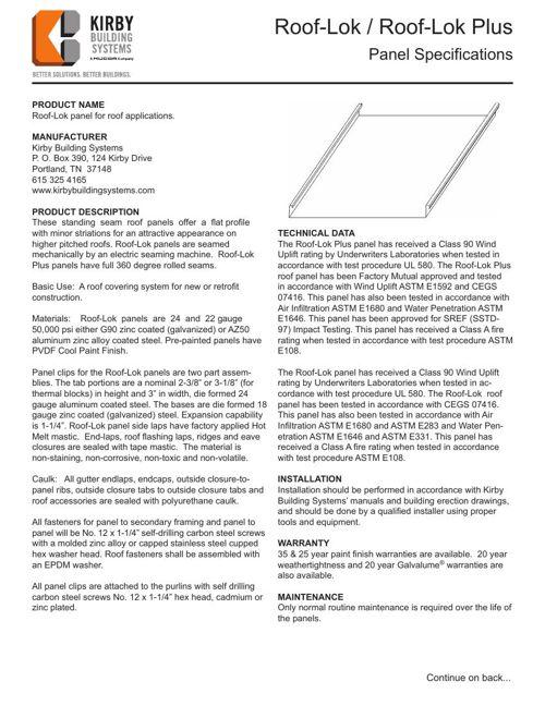 roof-lok flyer