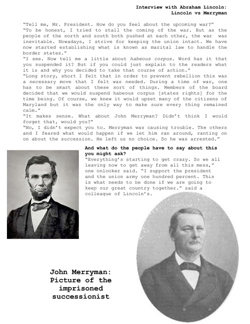 Civil War Report