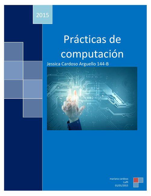 Prácticas de computación