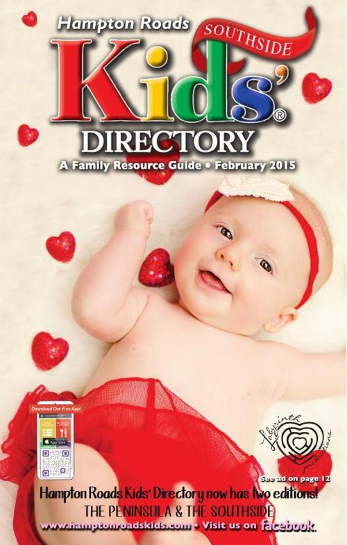 Feburary 2015 Southside Hampton Roads Kids Directory