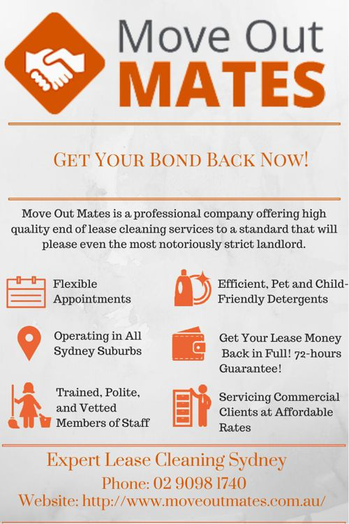 MOVE OUT MATES - End of Lease Cleaning Sydney