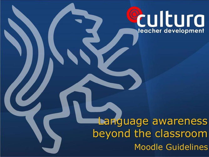 Language Awareness guidelines