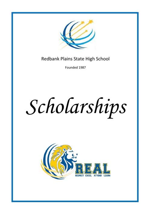Scholarship Information Booklet