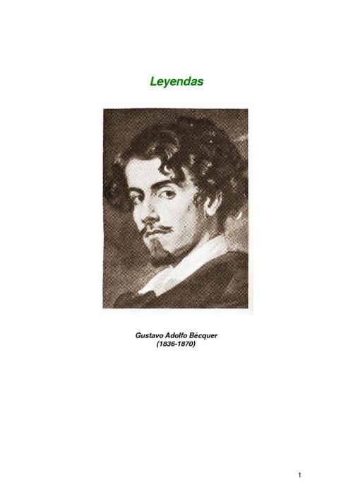 Leyendas.G. A. Bécquer