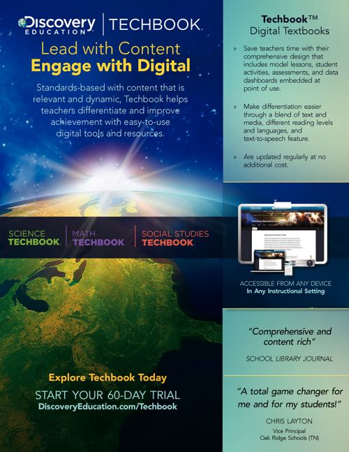 Discovery Education Techbook Overview