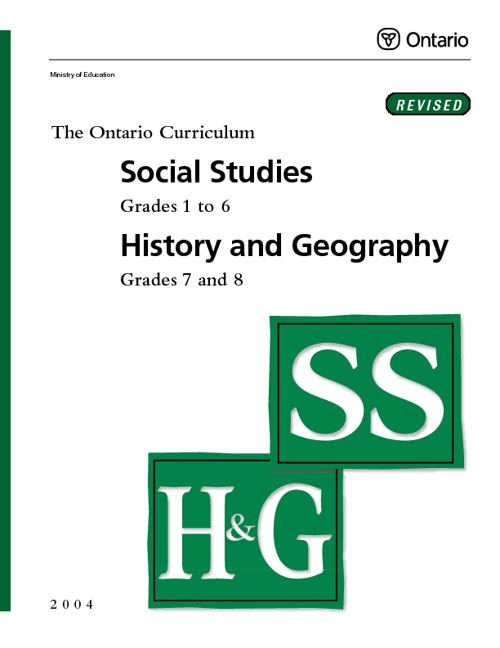 Social Studies History and Geography