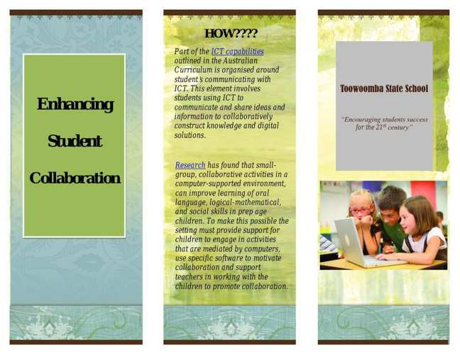 Enhancing student collaboration