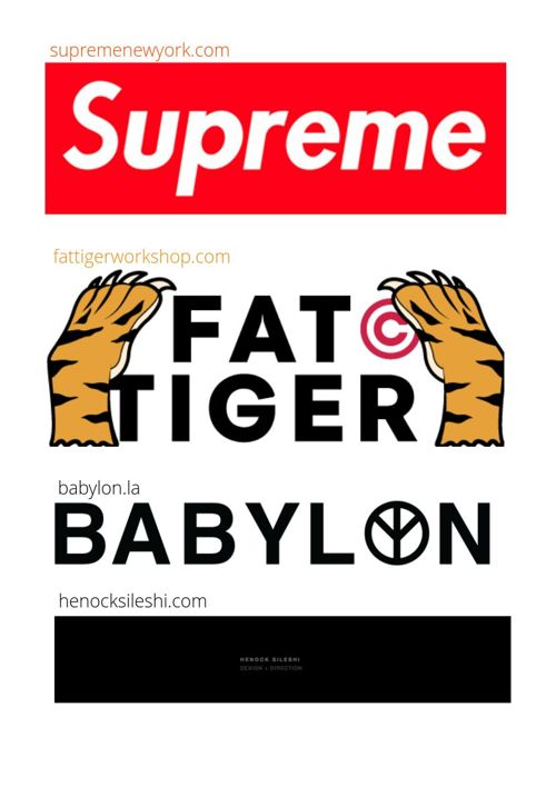 Streetwear Catalog