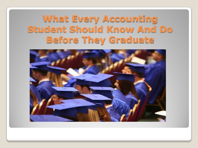 A Guide For Accounting Students