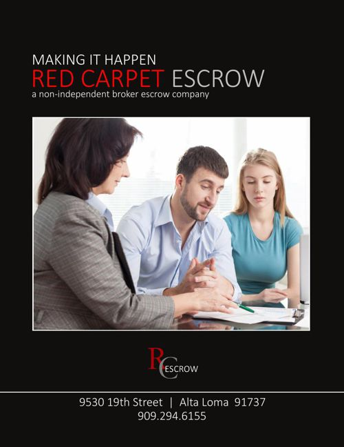Welcome to Red Carpet Escrow info guide