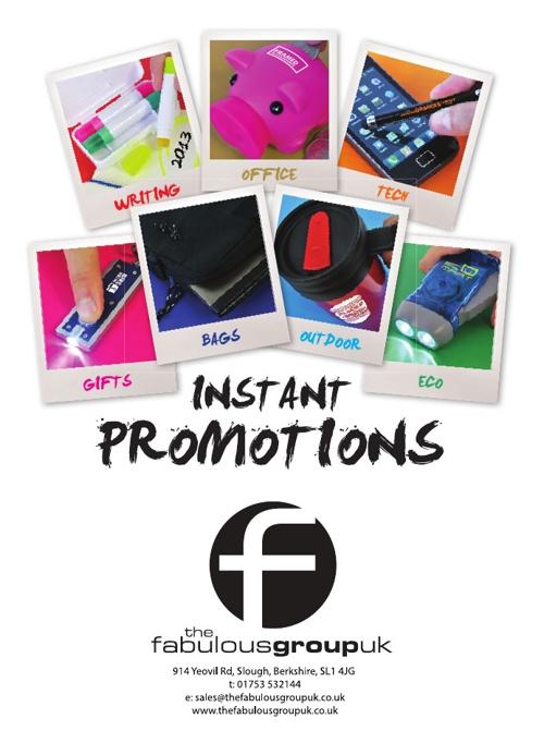 The Fabulous Group Catalogue 2013