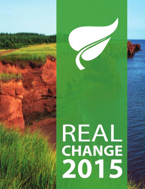 REAL CHANGE - Green Party of Prince Edward Island Policy 2015