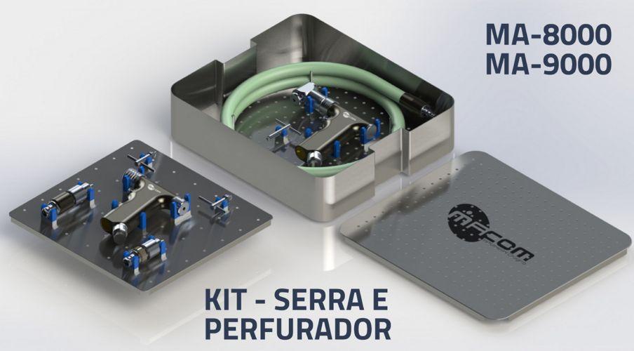 Macom - Kit Serra e Perfurador