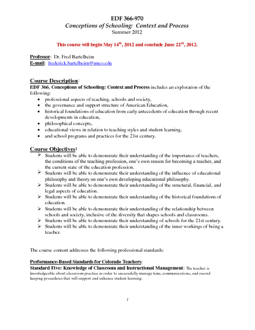 Copy of Sample Syllabus