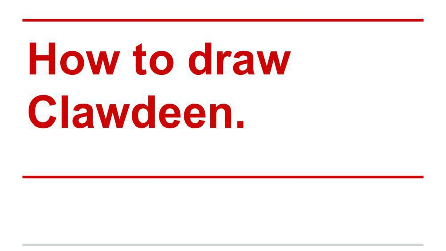 How to draw Clawdeen