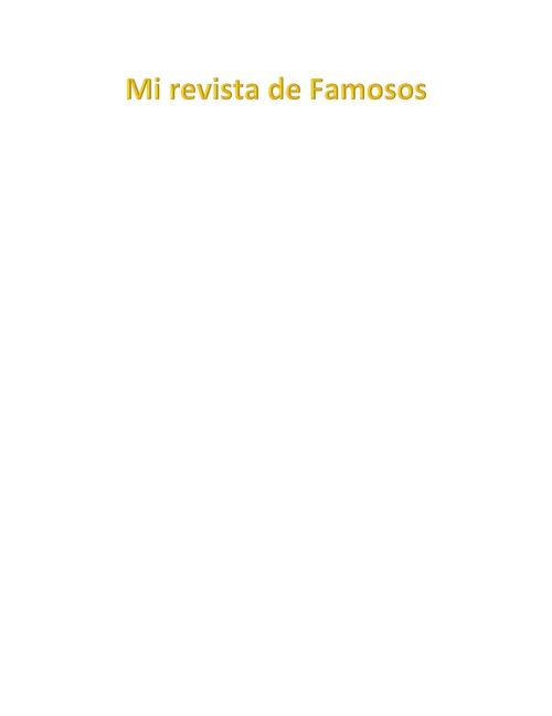 la revista de Jose Aldava