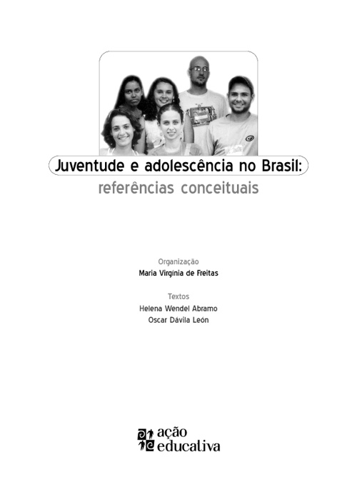 ADOLESCENCIA E JUVENTUDE NO BRASIL