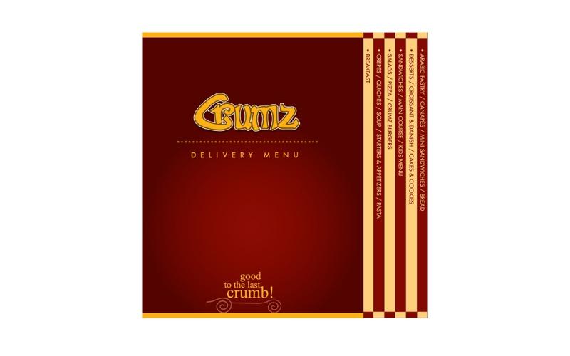 Crumz Delivery Menu