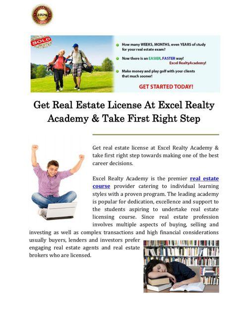 Online Real Estate Course   Real Estate License