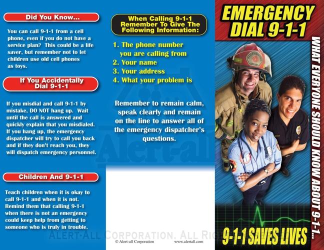 734 Emergency Dail 911