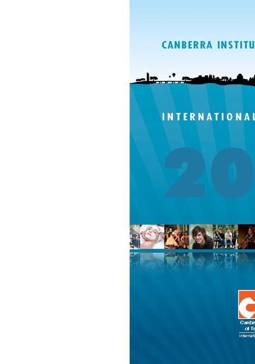 2013 CIT International Course Guide