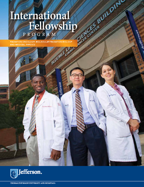 Department of Radiation Oncology International Fellowship