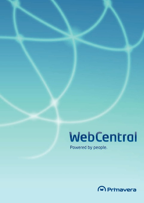 PRIMAVERA WebCentral