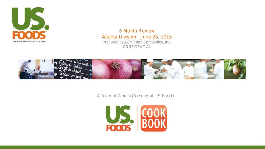 USF Review - Atlanta Division - 6 Month Review - 6-25-15